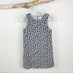 GYMBOREE Girl's Leopard Print Velour Dress